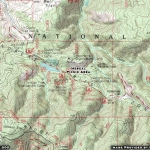 Mescal Picnic Area Map - Wrightwood CA Mountains