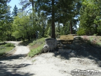 Entrance to Arch Picnic Area - Wrightwood CA Mountains