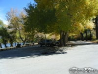 Parking lot of Jackson Lake Picnic Area - Wrightwood CA Mountains