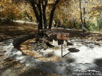 Stove in Mescal Picnic Area - Wrightwood CA Mountains